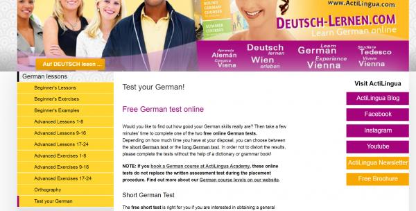 тестове по немски език