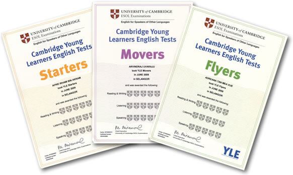 YLE_Certificates