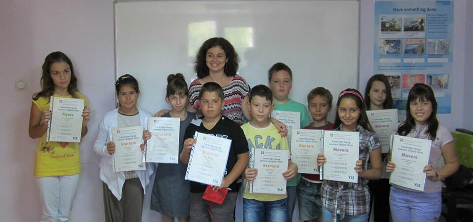 подготовка за сертификат на кеймбридж за деца