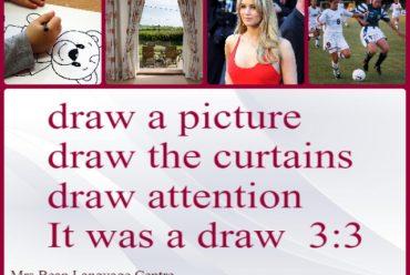Знаете ли поне четири значения на DRAW?