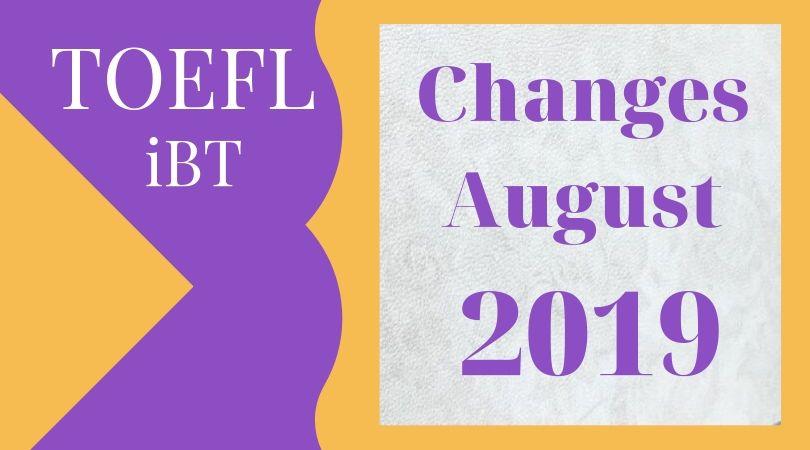 TOEFL iBT 2019