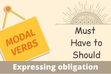 Модални глаголи ≫ Must • Should